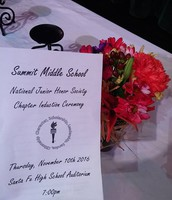 3rd Annual NJHS Ceremony