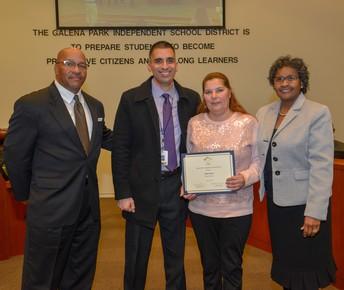 Parent Volunteer Recognition