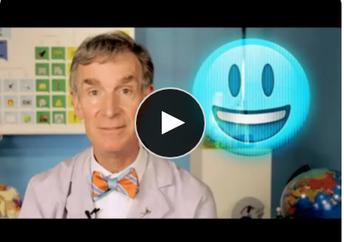 Bill Nye Explains Holograms with Emoji