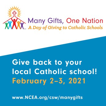 Day of Giving to Catholic Schools: Many Gifts, One Nation