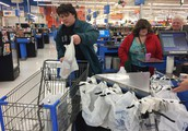 Grocery Shopping at Walmart
