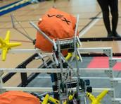 Dueling VEX Robots
