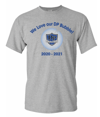 We love our DP Bubble Free t-shirts courtesy of our FSA!