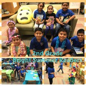 2nd Grade Bright Summer Readers