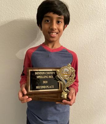 Aman Mahalley - 4th Grader