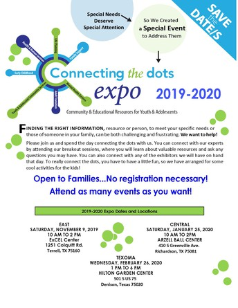 Connecting the Dots: Community & Educational Resources for Youth & Adolescents