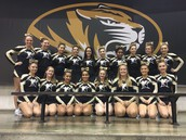Varsity Cheer Earns 6th place at State Competition