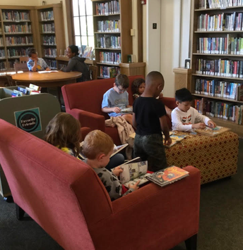 1st Grade Field Trip to Maze Library