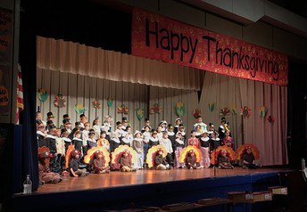 Principal's Note: Happy Thanksgiving