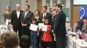 England Chess Players Recognized at School Board Meeting