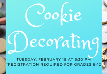 Winter Cookie Decorating for Teens