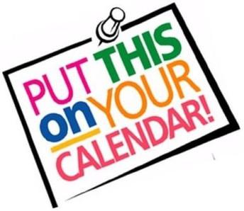 Important Calendar Dates