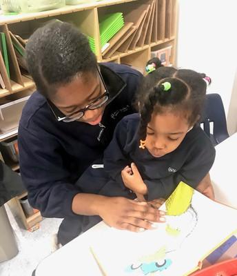 Grade 8 Reading Buddies!