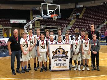 Grade 8 Boys' Basketball