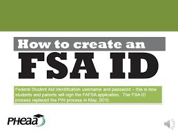 FSA ID Number