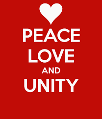 LOVE, PEACE AND UNITY MARCH