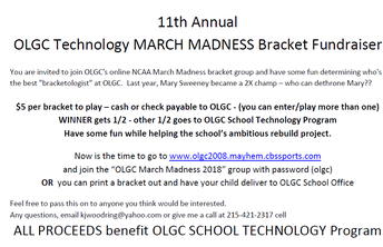 March Madness Bracket Fundraiser