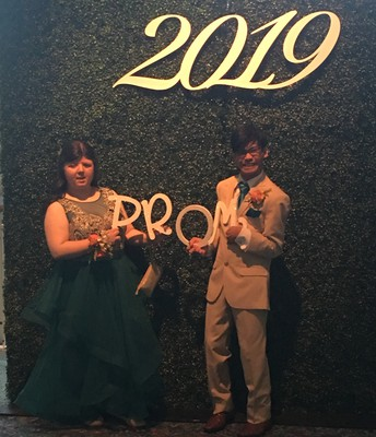 Prom 2019 with Star Little and Ethan Lambert