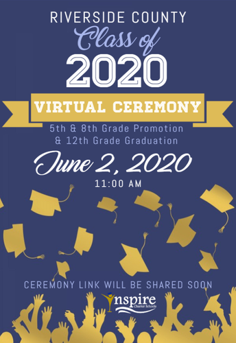 2020 Promotion & Graduation Update - We're going virtual!