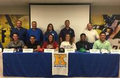 6 Athletes Sign on National Signing Day