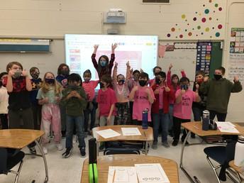 Pink Shirt Day fun in 4P!