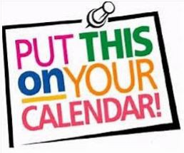Important Dates and Upcoming Events: