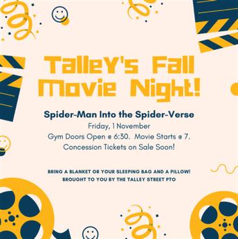 Talley Fall Movie Night