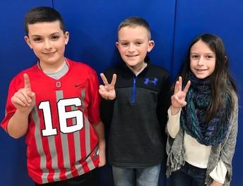WES Spelling Bee Winners