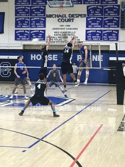 CHS Volleyball Match