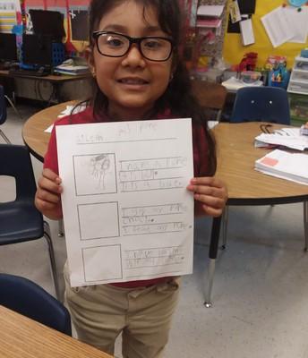 Writing in Kindergarten!