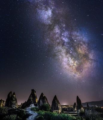 Stargazing in Cappadocia