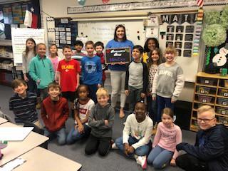 Mrs. Cox - Bennett's Best Recipient