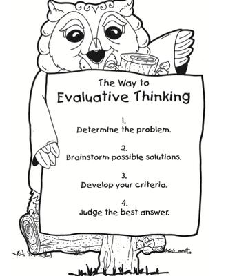 Evaluative Thinking