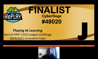 Cyberdogs Advance to Finals at Innovation Expo