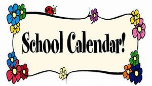 Please see our attached calendar for the 2019-20 school year ~ See below