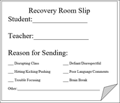 Recovery Room Passes & Health Rooom Info