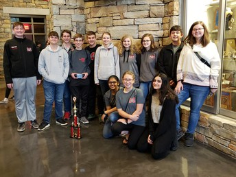 Geometry team places 2nd at Vestavia