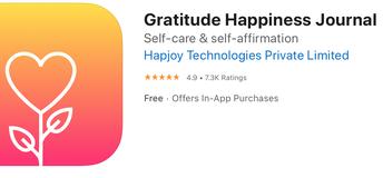Gratitude Happiness Journal App