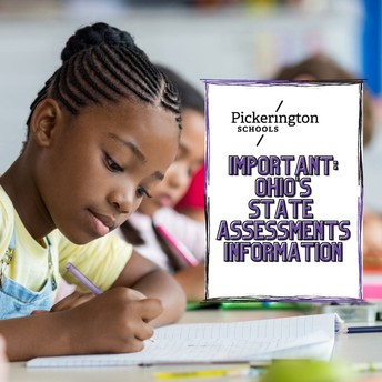 Last dates for Ohio's State Assessments are April 27-28th