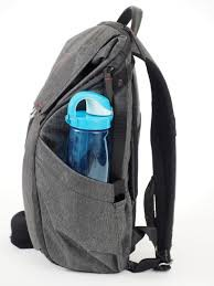 #4 Bring a water bottle and backpack.