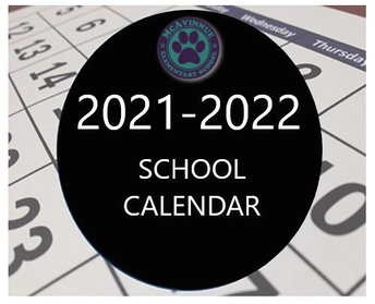 LPSD School Calendar 2021-2022 School Year