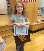 PCS 3rd grade Citizen of the Month