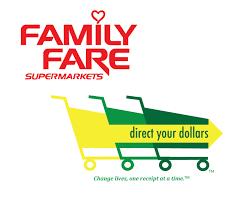 Family Fare Receipts