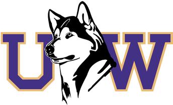 UW logo with Husky
