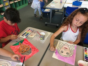 3rd Grade Self Portraits