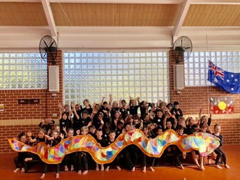 Years 1O and 3B Host NAIDOC Special Assembly