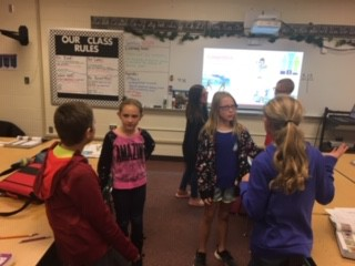 Using whole brain teaching to learn our vocabulary