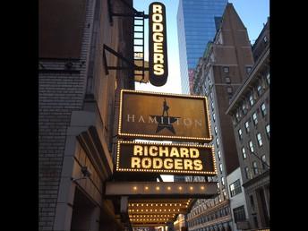 Seeing THE show: Hamilton