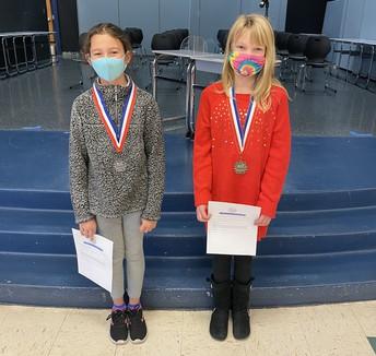 Runner-up: Chloe Miller and Champion: Lauren Buckingham