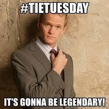 #TieTuesday
